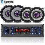 Som Automotivo Bluetooth Multilaser + Falantes Pioneer 5 e 6 Jogo 4pç
