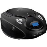 Radio Boombox Cd/USB/Sd/Fm/Aux 20W Rms SP178 Preto