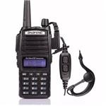 Rádio Comunicador C/ Visor 5km Walktalk Baofeng - Bf-uv82