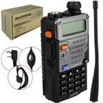 Rádio Comunicador Dual Band Uhf + Vhf Baofeng Uv-5r