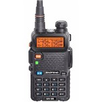 Rádio Ht Dual Band Uhf + Vhf Baofeng Uv-5r 128 Canais