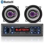 Rádio Mp3 Player Automotivo Multilaser Bluetooth + 02 Falantes 5 Pioneer