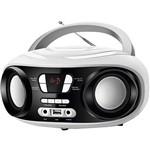 Rádio Portátil Mondial Bx-14 Up White FM USB Fone e Auxiliar Branco