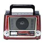 Rádio Recarreável com 3 Bandas Am/fm/sw com USB/tf