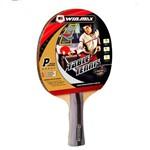 Raquete de Tênis de Mesa Winmax 5 Estrelas com Case Vermelho