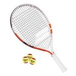 Raquete de Tênis Infantil Babolat French Open 21 com 03 Bolas de Tênis Stagio 3