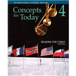 Reading For Today 4 - Concepts For Today - Student Book