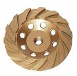 Rebolo Diamantado Turbo Segmentado 115 X M14 para Lixar Alvenaria - 729139 - MTX