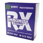 Receptor de Controle Remoto Rx Immunity Duplo 433mhz