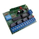 Receptor Ipec 4 Canais Multifuncional Pulso Retenção 433mhz