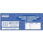 Recibo Comercial com Canhoto 50 Folhas 2 Cores com 10 Blocos São Domingos