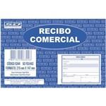 Recibo Comercial Sem Copia 50 Folhas Grande com 20 Blocos São Domingos