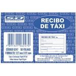 Recibo de Taxi 50 Folhas com 20 Talões São Domingos