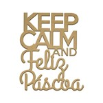 Recorte Keep Calm Páscoa P