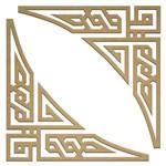 Recorte Laser Cantoneira Geométrica II