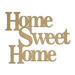 Recorte Laser Home Sweet Home