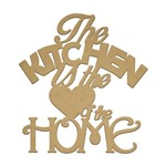 Recorte Laser The Kitchen Is The