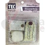 Recortes Vintage de Papel Toke e Crie Figuras Tags - 12839 - Dc01