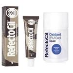 Refectocil Tintura Sobrancelhas Castanho Natural 3.0 e Oxidante 100ml