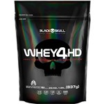 Refil Whey 4hd Strawberry 837g - Black Skull