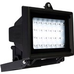 Refletor Key West de 28 Leds Preto