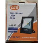 Refletor Led Holofote 50w Resistente Água Branco Frio Briwax