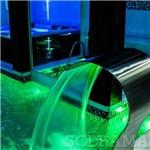 Refletor para Piscina Hiper Led Pratic 9w para Área de 14m² Latão/Inox - Sodramar