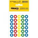 Reforco Auto Adesivo 150un Colorido Op4433 Pimaco Blister