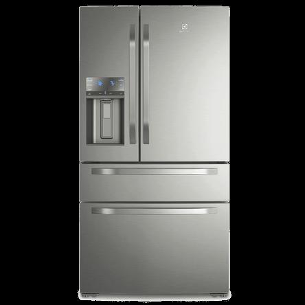 Refrigerador Multidoor Electrolux com Dispenser de Água e Gelo 540L Platinum (DM90X) 220V