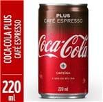 Refrigerante Coca Cola 220ml Lt Plus Cafe Expresso