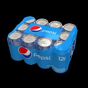 Refrigerante Pepsi Tradicional 350ml Lt - ( Pack C/ 12 Unidades )
