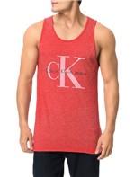 Regata Calvin Klein Jeans Logo Ck Vermelho - GG
