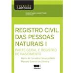Registro Civil de Pessoas Naturais I - Saraiva