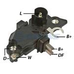 Regulador de Voltagem - Gauss - Ga220 - Unit. - Palio 1991-2013/fiesta 2004-2016