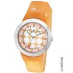 Relógio Champion Ca60500b Laranja