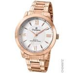 Relógio Champion Ch24697z Dourado Rose