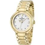 Relógio Champion Diva Feminino Dourado CN29696H
