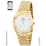 Relógio Champion Feminino + Conjunto Semi Joia CN28633W