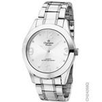 Relógio Champion Feminino Prateado Ch24268q