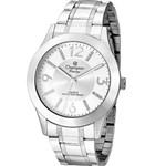 Relógio Champion Feminino Prateado Grande CN29418Q