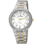 Relógio Champion Feminino Pulseira Prata Ca20223w