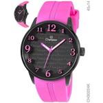 Relógio Champion Feminino Silicone Rosa Ch30224k
