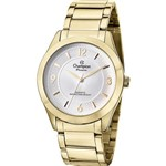 Relógio Champion Feminino Social Dourado - CN28866H