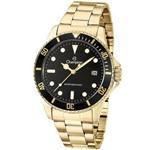 Relógio Champion Masculino Dourado Ca31266u