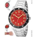 Relógio Champion Masculino Grande Ca31355v Promoção