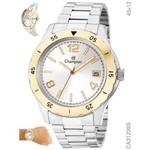 Relógio Champion Masculino Prata e Dourado Ca31239s