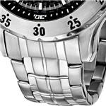 Relógio Champion Masculino Social Prata com Preto - CA30641T