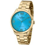 Relógio Champion Rainbow Azul Feminino CN29892A