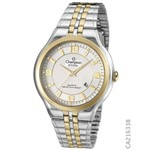 Relógio Champion Unissex Prata com Dourado CA21633B