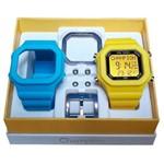 Relógio Champion Yot Cp40180x Azul Amarelo